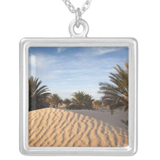 Tunisia, Sahara Desert, Douz, Great Dune, palm 2 Jewelry