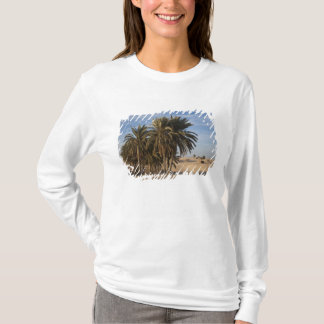 Tunisia, Sahara Desert, Douz, Great Dune, palm T-Shirt