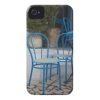 Tunisia, Sidi Bou Said, cafe chairs iPhone 4 Case-Mate Case
