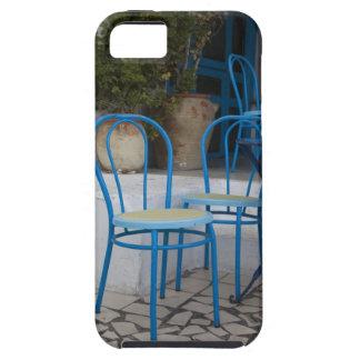 Tunisia, Sidi Bou Said, cafe chairs iPhone SE/5/5s Case