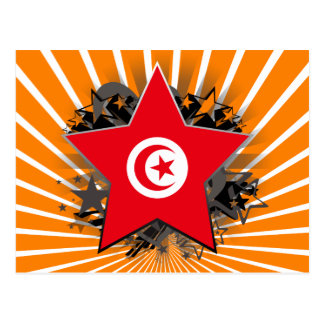 Tunisia Star Postcard