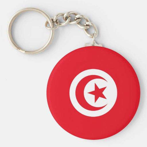 Tunisia TN Keychains