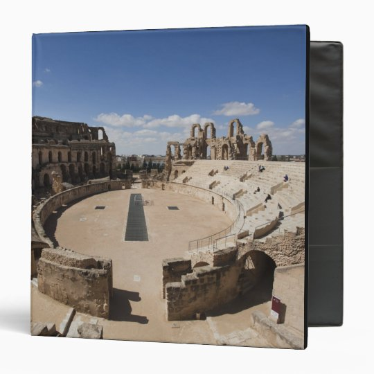 Tunisia, Tunisian Central Coast, El Jem, Roman 6 3 Ring Binder