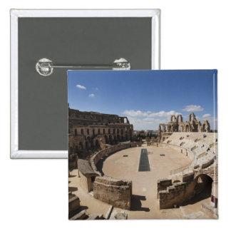 Tunisia, Tunisian Central Coast, El Jem, Roman 6 Pinback Button