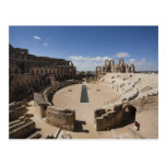 Tunisia, Tunisian Central Coast, El Jem, Roman 6 Postcards
