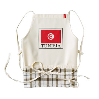 Tunisia Zazzle HEART Apron