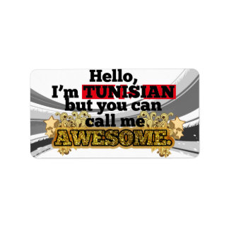 Tunisian, but call me Awesome Label