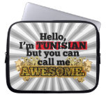 Tunisian, but call me Awesome Laptop Computer Sleeve