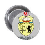 Tunisian Emblem Buttons