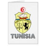 Tunisian Emblem Greeting Card