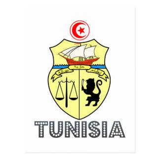 Tunisian Emblem Postcard