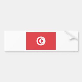 Tunisian Flag Bumper Sticker