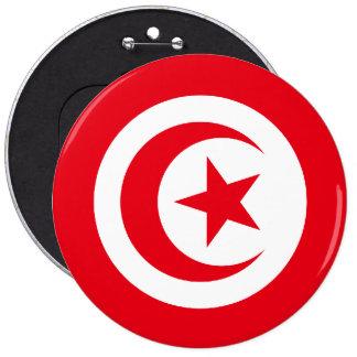 Tunisian Flag Button