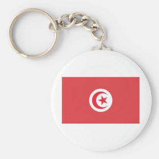 Tunisian Flag Keychain