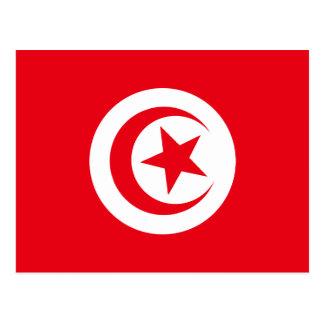 Tunisian Flag Postcard