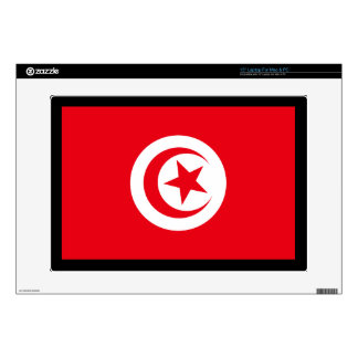 Tunisian Flag Decals For Laptops