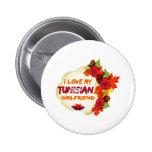 Tunisian girlfriends designs pinback buttons