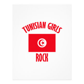 Tunisian girls DESIGNS Letterhead