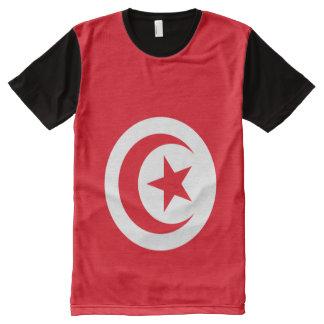 Tunisian National Flag T Shirt
