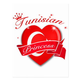 Tunisian Princess Postcard