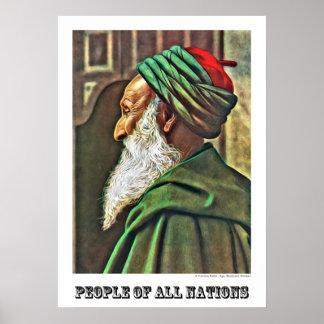 Tunisian Rabbi Poster