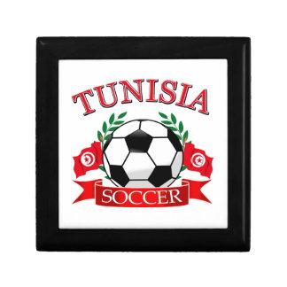 Tunisian Soccer Designs Trinket Boxes