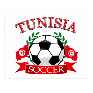 Tunisian Soccer Designs Postcard