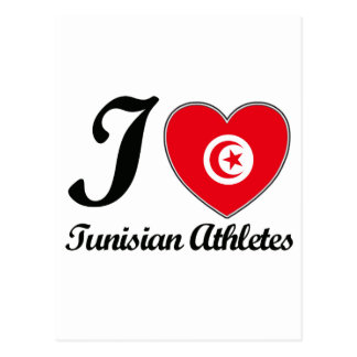 tunisian sport designs postcard
