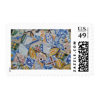 Tunisian Tiles Stamp