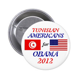 Tunisians Americans for Obama button