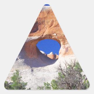 Tunnel Arch Triangle Sticker
