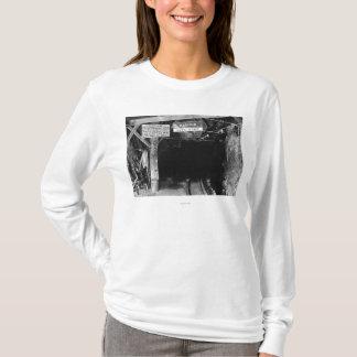 Tunnel at Juneau, Alaska Treadwell Mine T-Shirt