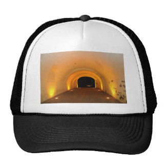 Tunnel at night hat