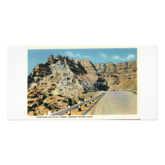 Tunnel, Badlands of South Dakota Card