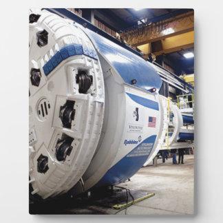 Tunnel Boring Machine Plaque