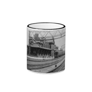 Tunnel Depot, Port Huron, Michigan  - Louis Pesha Ringer Mug