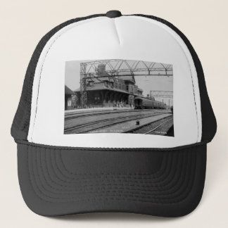 Tunnel Depot, Port Huron, Michigan  - Louis Pesha Trucker Hat