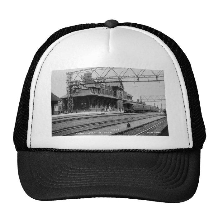 Tunnel Depot, Port Huron, Michigan  - Louis Pesha Trucker Hat