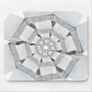 tunnel flower mouse mat mouse pad