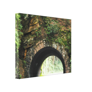 Tunnel Great Smoky Mountains Canvas