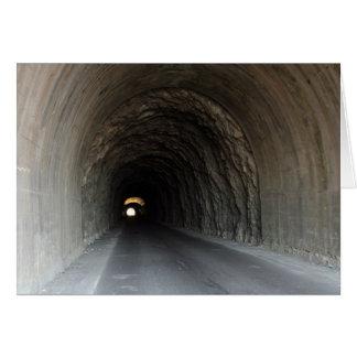 Tunnel in Carrara/Italy Greeting Card