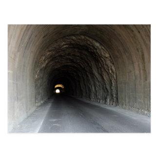 Tunnel in Carrara/Italy Postcard