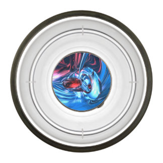 Tunnel Lust Abstract Pet Bowl
