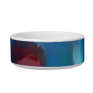 Tunnel Lust Pastel Abstract Pet Water Bowl