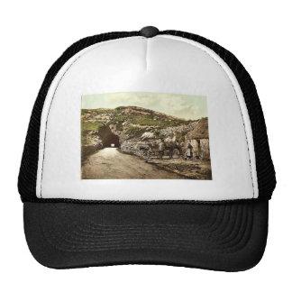 Tunnel Near Glengariff. Co. Cork, Ireland rare Pho Hats