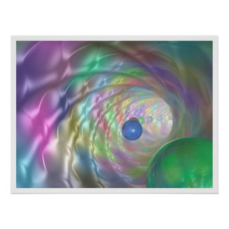 Tunnel of Colors Posters