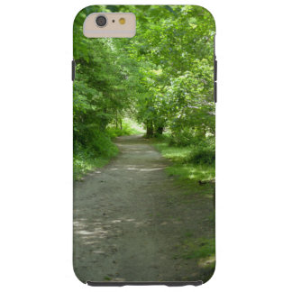 Tunnel of Leaves Tough iPhone 6 Plus Case