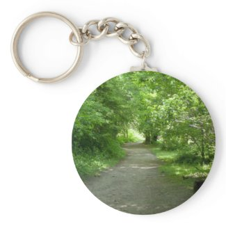 Tunnel of Leaves Keychain keychain