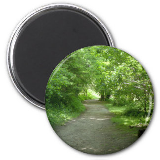 Tunnel of Leaves Magnet