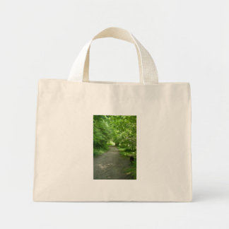 Tunnel of Leaves Tote Bag